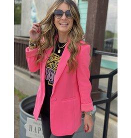 Neon Pink Blazer