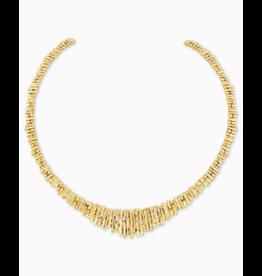 Kendra Scott Rylan Collar Necklace Gold
