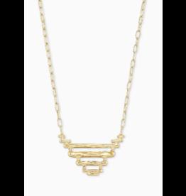 Kendra Scott Rylan Pendant Necklace Gold