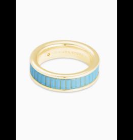 Kendra Scott Jack Band Gold Turquoise Crystal