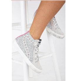 Vintage Havana Ray Glitter Sneakers