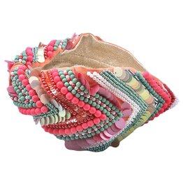 Treasure Jewels Pink Fiesta Headband
