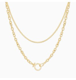 Gorjana Gold Wilder Wrap Necklace