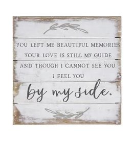 By My Side 6x6 Sign