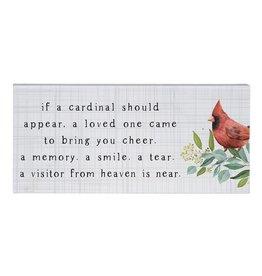 If A Cardinal Sign