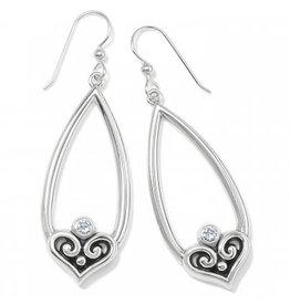 Brighton Alcazar Heart Teardrop FW Earrings