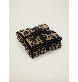 CozyChic® Barefoot in the Wild® Throw in Camel Black