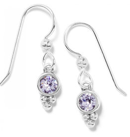 Brighton Color Drops Mauve French Wire Earrings