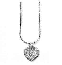 Brighton Portuguese Heart Necklace