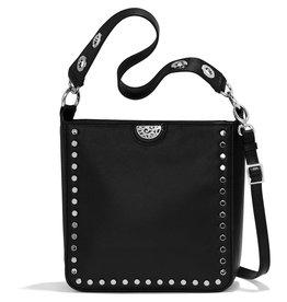 Brighton  Black Raine Cnvertble Shoulder Bag