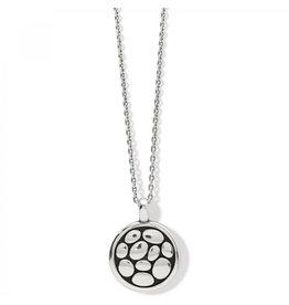 Brighton Pebble Round Rv Petite Necklace