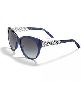 Brighton Interlok Braid Blue Sunglasses
