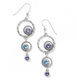 Brighton Halo Radiance French Wire Earring