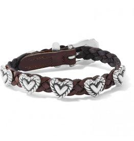 Brighton Roped Heart Bandit Bracelet