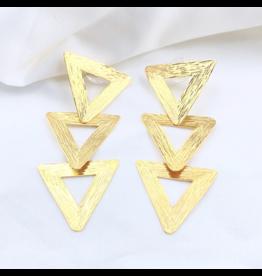 Treasure Jewels Gold Tamarah Gold Triangle