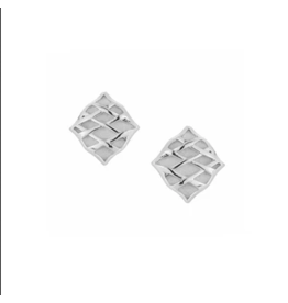 Natalie Wood Southern Charm Stud Earring Silver