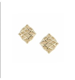 Natalie Wood Southern Charm Stud Earring Gold