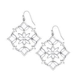 Natalie Wood Grace Drop Earring - Silver