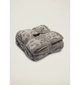Barefoot Dreams CozyChic® Barefoot in the Wild® Throw Linen/Warm Gray