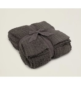 Barefoot Dreams CozyChic® Ribbed Throw in Charcoal
