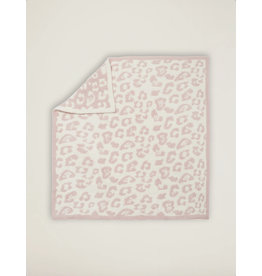 Barefoot Dreams CozyChic® Barefoot in the Wild® Baby Blanket in Dusty Rose Cream