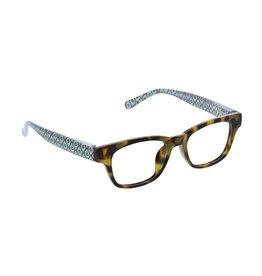 Peepers Reading Glasses Penelope Focus Tortoise Geo