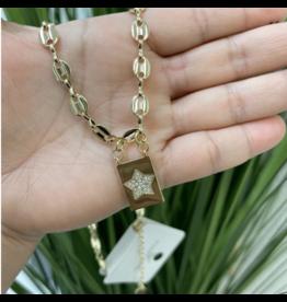 Treasure Jewels Gucci Star Necklace