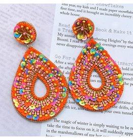 Treasure Jewels Pen Orange Drop