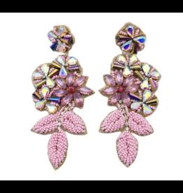 Treasure Jewels Pink Garden Crystal