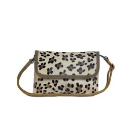 Leopard Cowhide Leather Purse