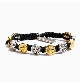 MSMH Benedictine Blessing Bracelet Black/Mixed