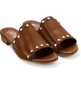 Brighton Night Leather Sandal - Bourbon