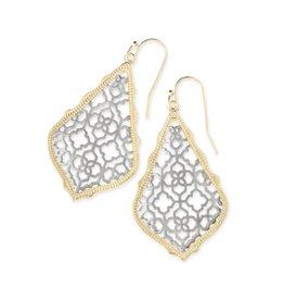 Kendra Scott Kendra Scott Addie Earring Gold/Silver Filigree