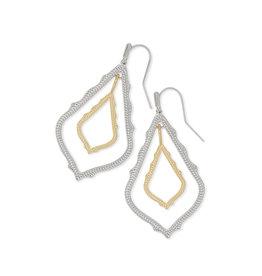 Kendra Scott Simon Earrings in Silver & Gold Mix