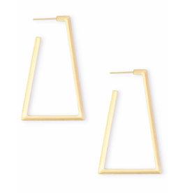 Kendra Scott Easton Earrings in Gold
