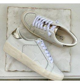 Vintage Havana Reflex White & Gold Sneakers