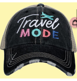 Travel Mode Embroidered Hat