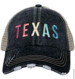 Texas Multi Embroidered Hat