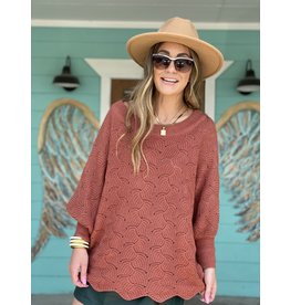 Ginger Patterned Sweater