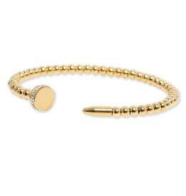 Bracha Gold Roma Nail Bracelet
