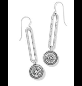 Brighton Ferrara Disc French Wire Earrings - Silver