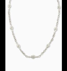 Kendra Scott Shiva Strand Necklace Silver
