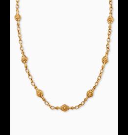 Kendra Scott Shiva Strand Necklace Vintage Gold