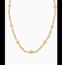 Kendra Scott Shiva Strand Necklace Gold