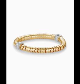Kendra Scott Shiva Stretch Bracelet Gold