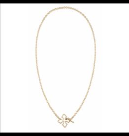 Natalie Wood Grace Toggle Necklace Gold
