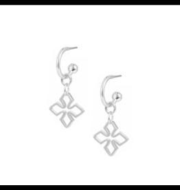 Natalie Wood Grace Mini Huggie Earring Silver