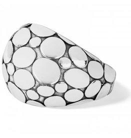 Brighton Silver Pebble Ring- Size 7