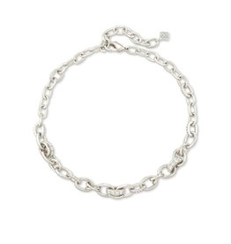 Kendra Scott Livy Chain Necklace Silver