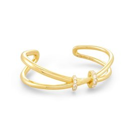 Kendra Scott Livy Cuff Bracelet Gold